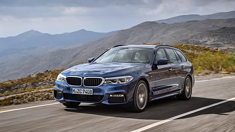 Die 5er-Baureihe soll für neuen Schwung bei BMW sorgen