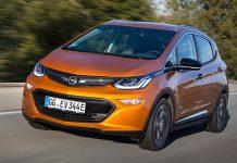 Der Opel Ampera-e.