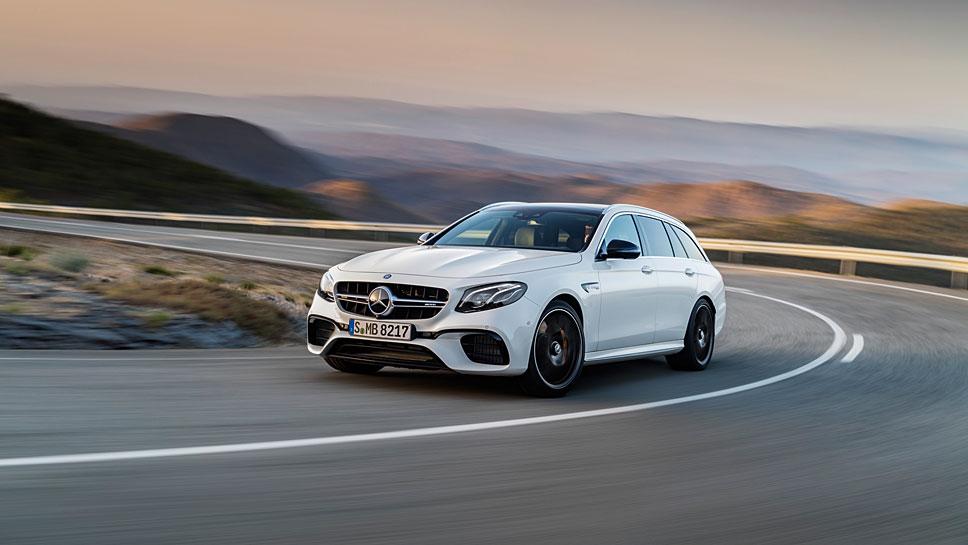 Mercedes-AMG schiebt das T-Modell des E 63 nach