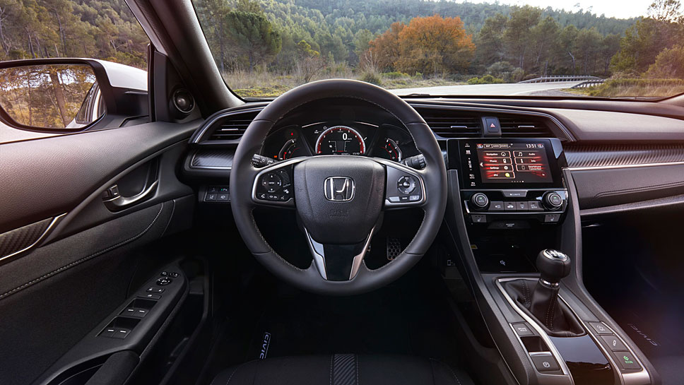 Honda hat den Civic wieder neu konzipiert