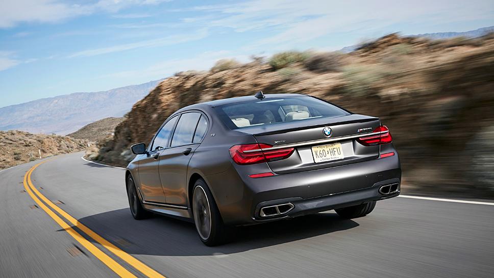 Der BMW M760Li xDrive ist der stärkste Serien-BMW in der Geschichte