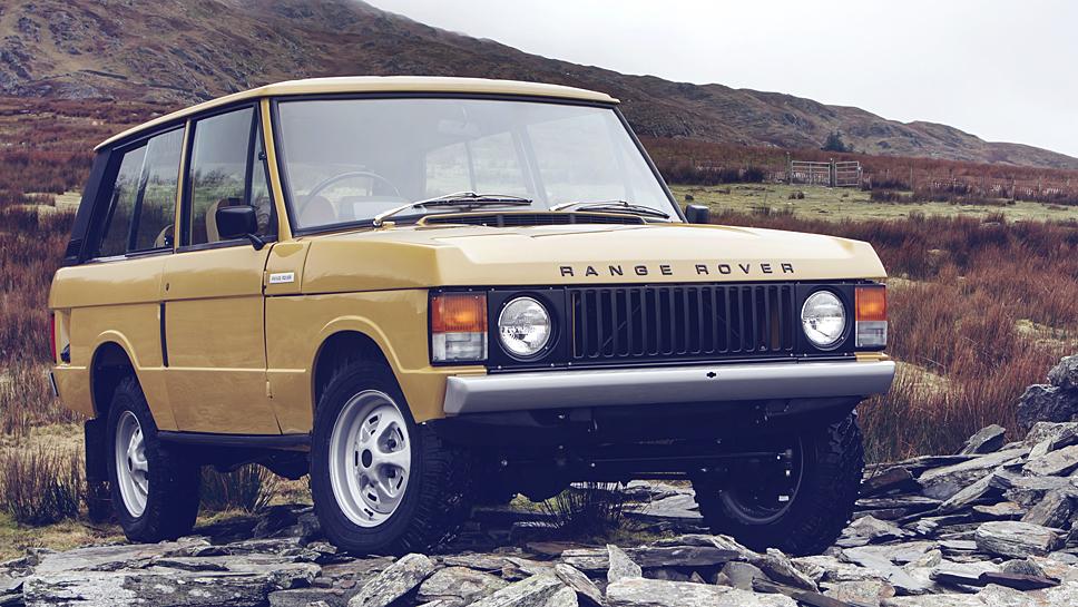 Ein Range Rover von 1978 wurde als erstes Fahrzeug restauriert