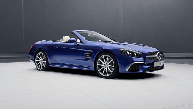 Mercedes kleidet SL und SLC neu ein
