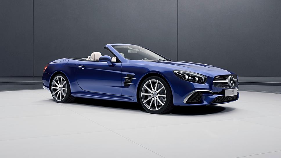 Mercedes wertet den SL mit der Designo Edition auf