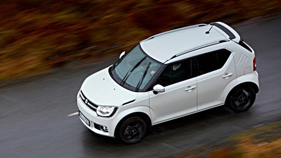 Der Suzuki Ignis ist nur 3,70 Meter kurz
