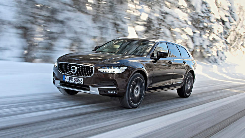 Der neue Volvo V90 Cross Country