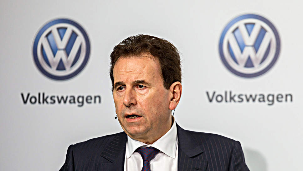 VW-Personalvorstand Karlheinz Blessing