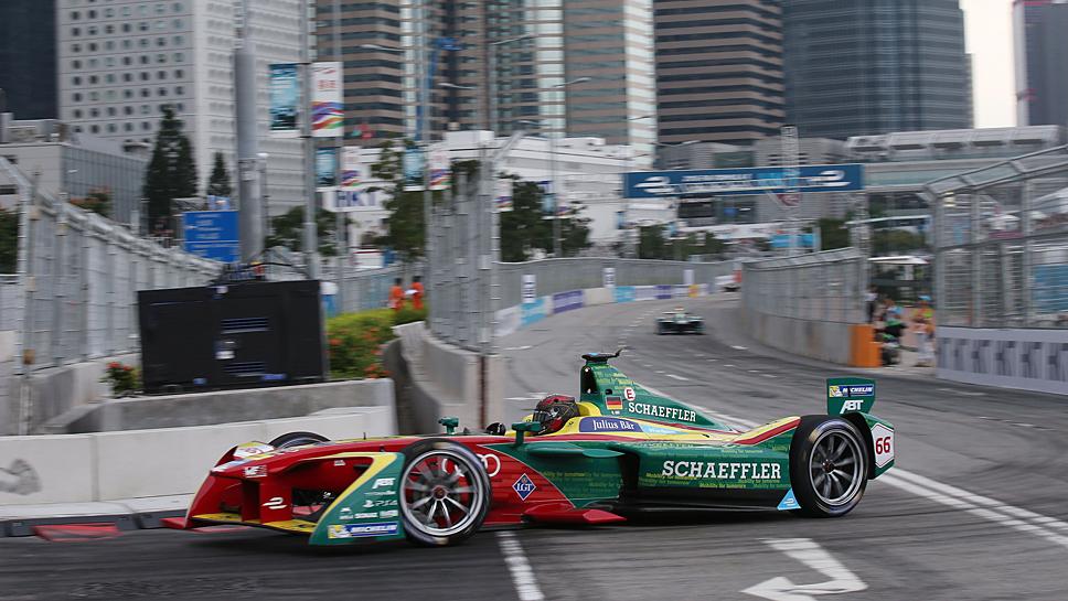 Daniel Abt beim Formel E-Rennen in Hongkong