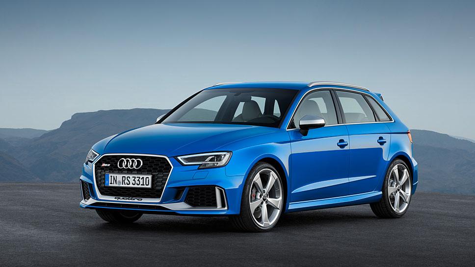 Audi enthüllt in Genf den RS3 Sportback