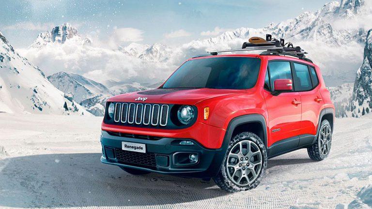 Jeep Renegade fährt Snowboard mit Nitro