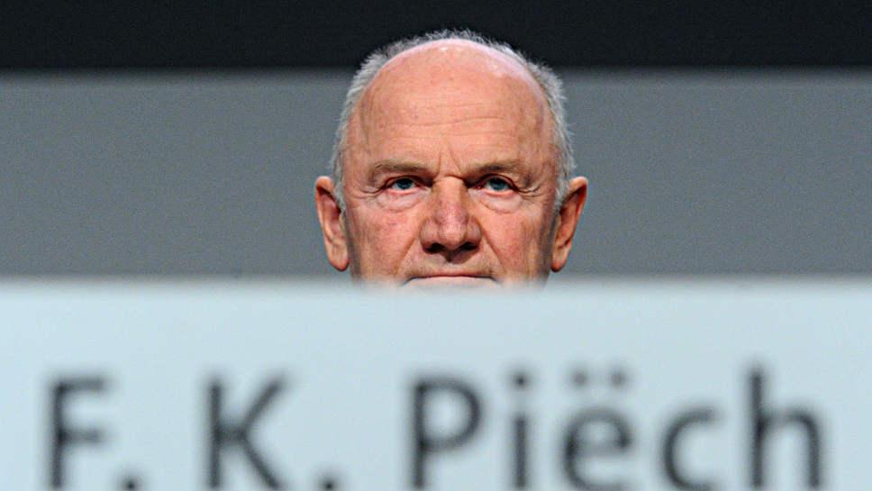 Ferdinand Piech verhandelt über einen Verlauf seiner VW-Aktien.
