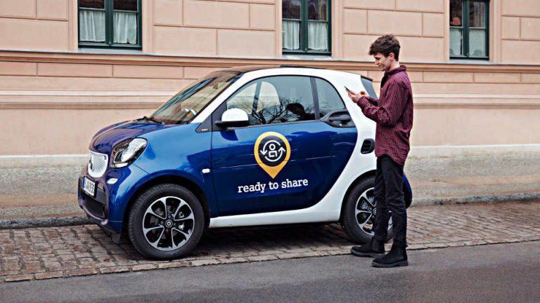 Smart ermöglicht privates Carsharing