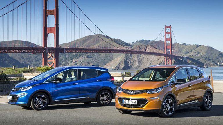 NEFZ zertifiziert Reichweite des Opel Ampera-e