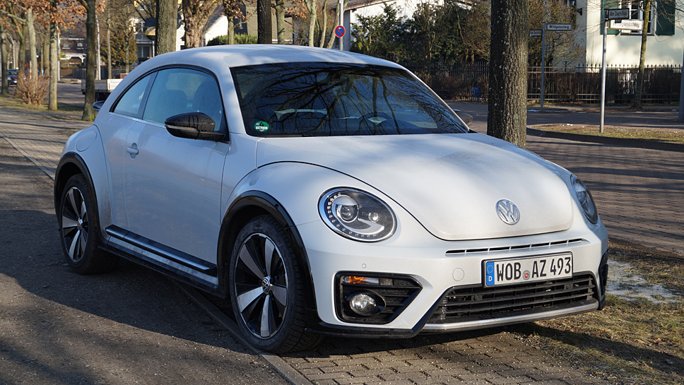 vw beetle 2.0 tsi r-line: herbie auf speed - autogazette.de