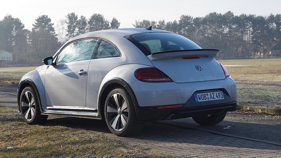 Der VW Beetle hat mit dem 2.0 TSI seine Bestimmung gefunden.
