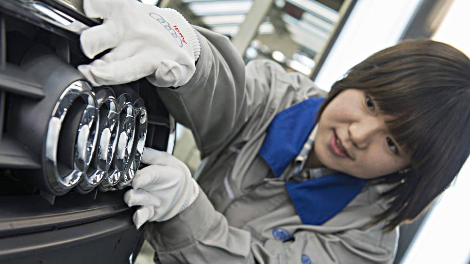 Auch für die deutschen Hersteller geht es in China aufwärts