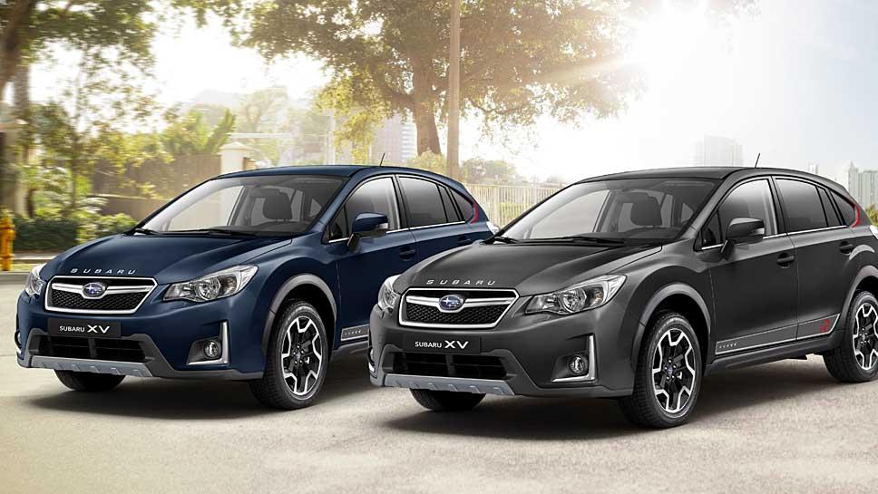 Subaru bringt den XV als limitiertes Sondermodell auf den Markt