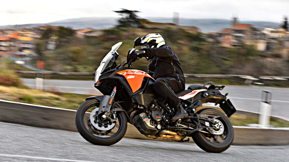 Die KTM Super Adventure S.