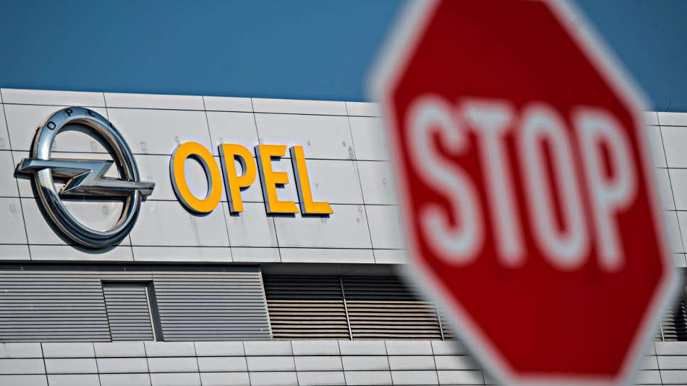 Zentrale von Opel in Rüsselsheim.
