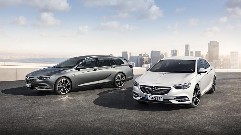 Der Opel Insignia Grand Sport sowie der Sports Tourer feiern in Genf Premiere
