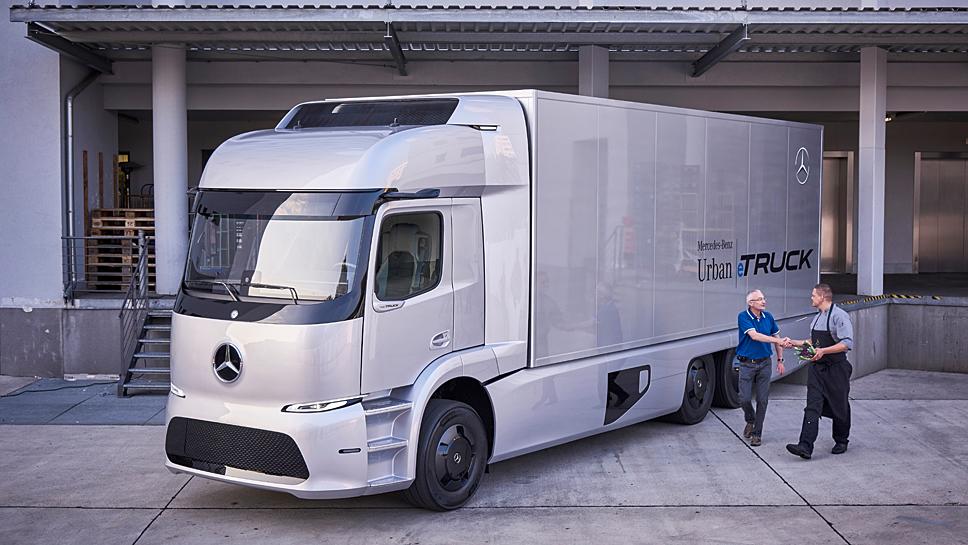 Mercedes legt den Urban eTruck in einer Kleinserie auf