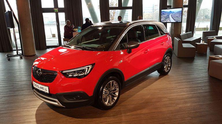 Opel Crossland X: Mit Synergien Erfolgskurs fortsetzen