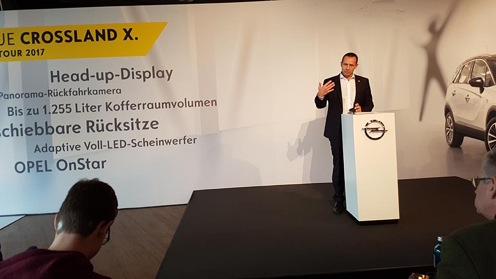 Opel-Geschäftsführer Jürgen Keller