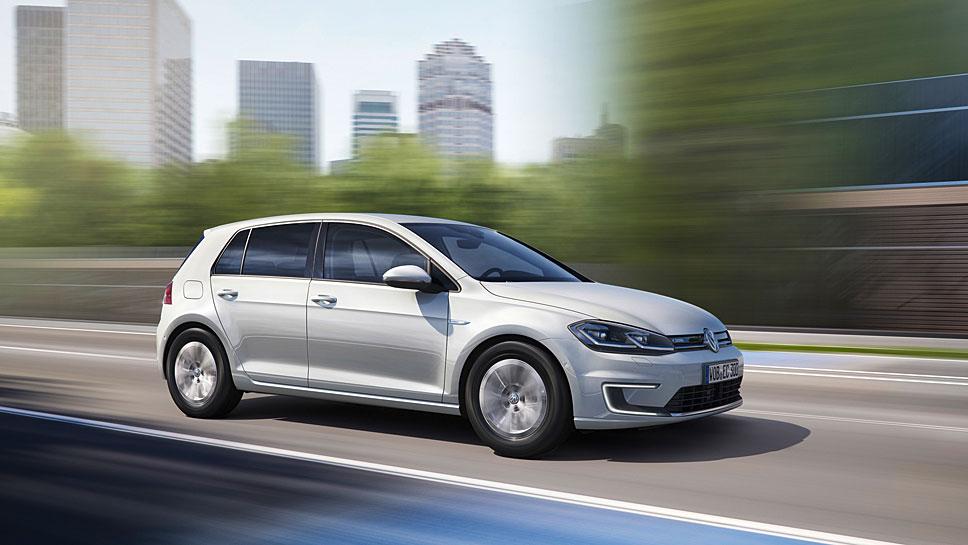 Der VW E-Golf erhält eine stärkeren Motor und mehr Reichweite