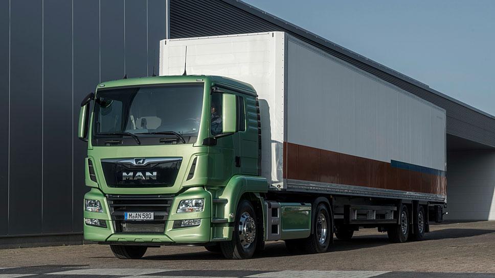 MAN bringt einen vollelektrischen Truck in Kleinserie