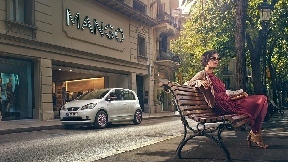 Seat brachte den Mii auch als Mango-Sondermodell