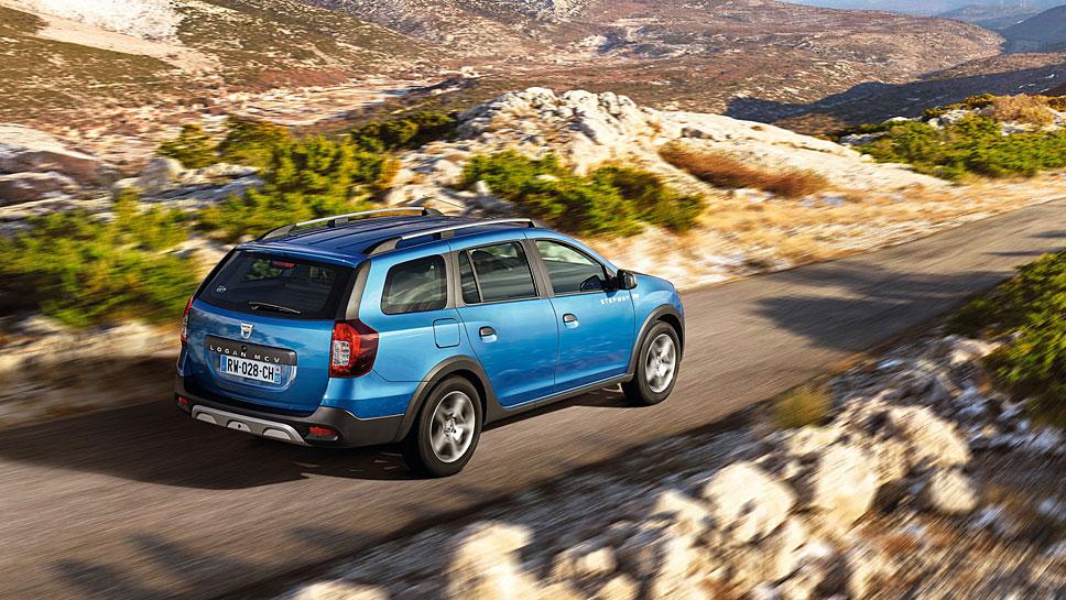 Dacia hat den Logan MCV Stepway zu mehr Bodenfreiheit verholfen