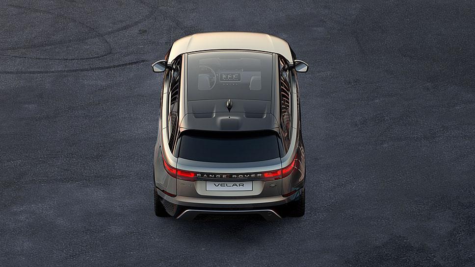 Land Rover bringt mit dem Velar die vierte Baureihe von Range Rover