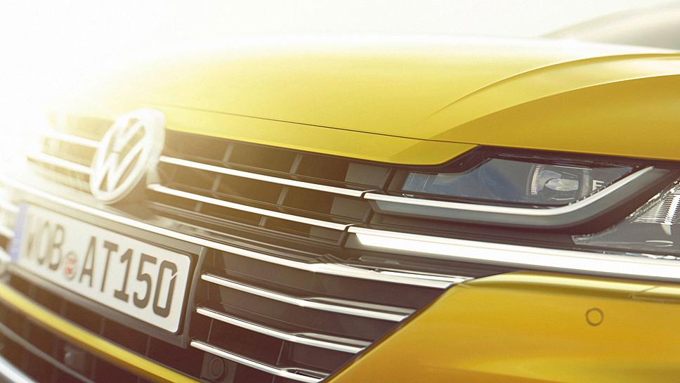 Der VW Arteon wird in Genf enthüllt