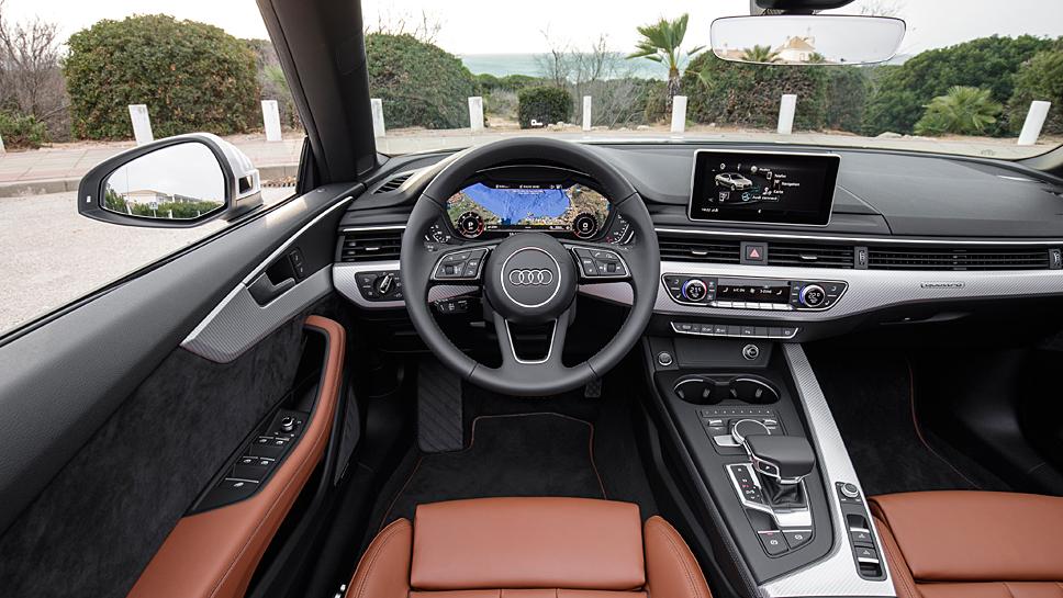 Audi läutet mit dem A5 Cabrio den Frühling ein