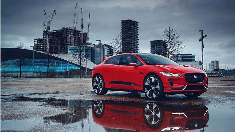 Jaguar steigt mit I-Pace Concept in elektrische Welt ein