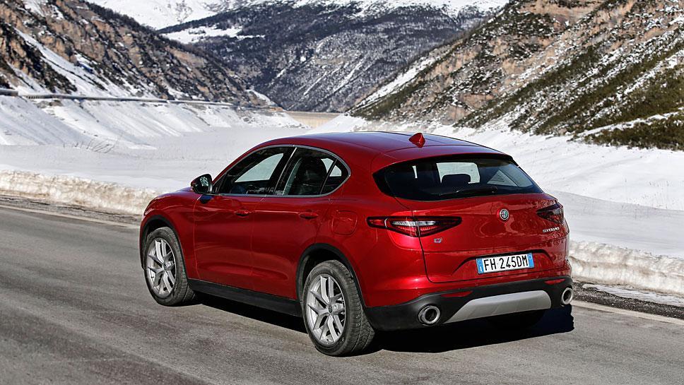 Alfa Romeo steigt mit dem Stelvio in das SUV-Segment ein