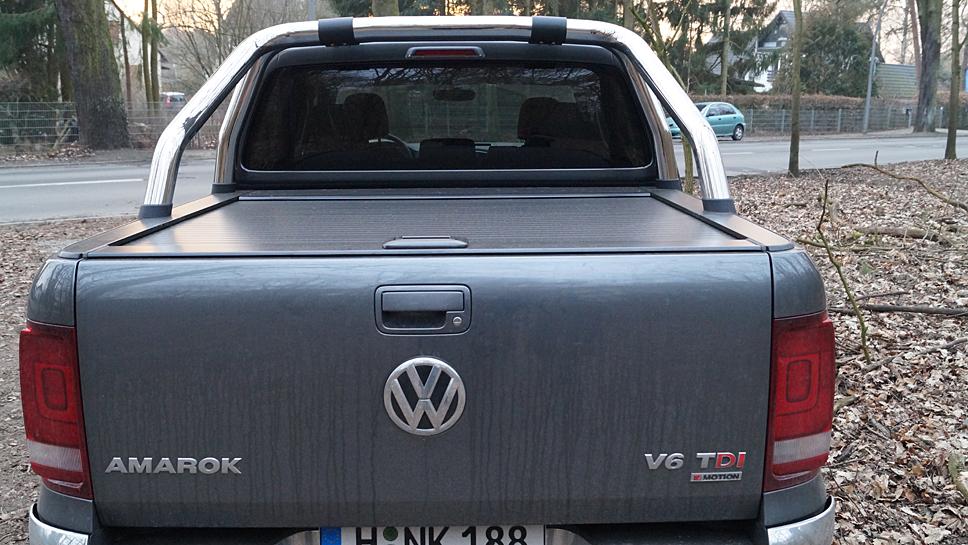 Der VW Amarok macht nicht nur auf Frauen Eindruck