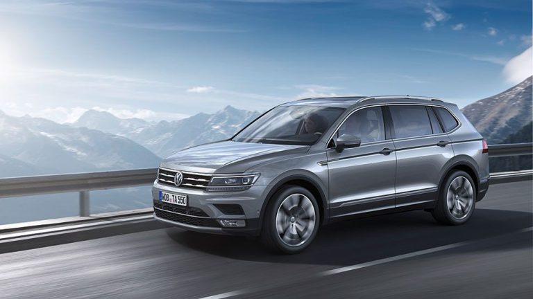 VW streckt den Tiguan