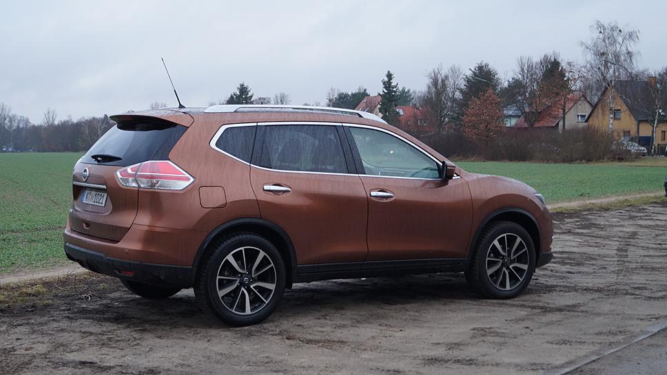 Der Nissan X-Trail verbindet Alltag und Annehmlichkeit