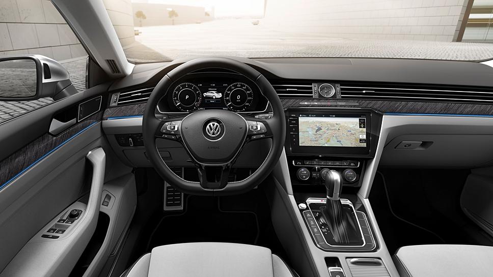 VW stellt in Genf den Arteon vor