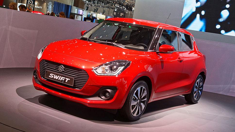 Der Suzuki Swift fährt in die sechste Generation