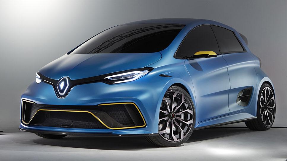 Renault präsentiert in Genf das Zoe e-Sport Concept