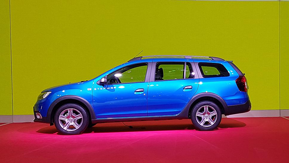 Der Logan MCV Stepway ist der Star des Dacia-Standes