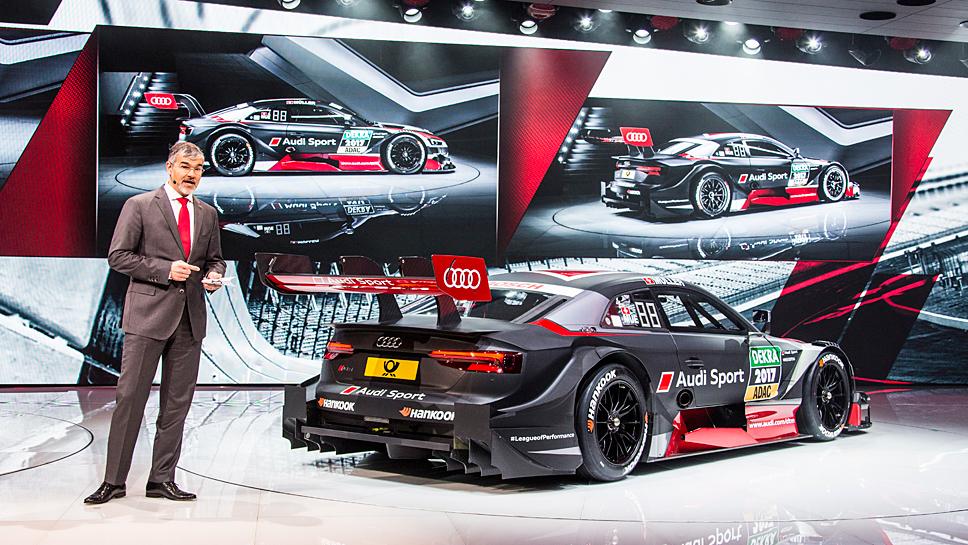 Der Audi RS 5 DTM soll ab Mai für Furore sorgen