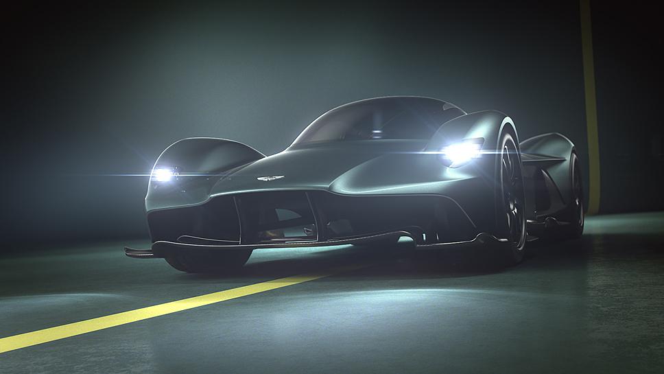 Der Aston Martin Valkyrie ist auf 150 Einheiten limitiert