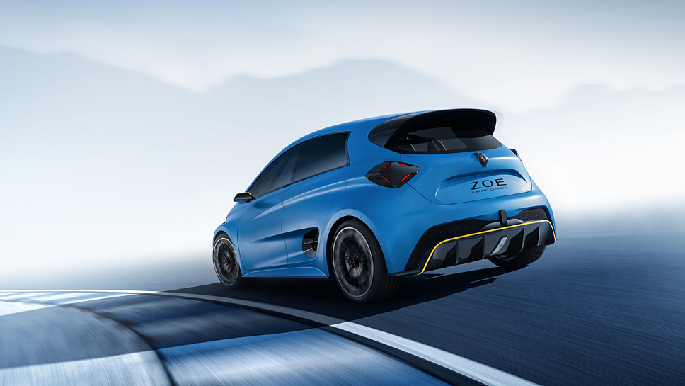 Der Renault Zoe E-Sport bleibt eine Studie