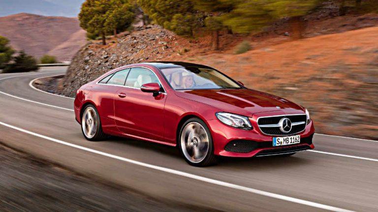 Mercedes E-Klasse Coupé: Nicht nur etwas für Ästheten
