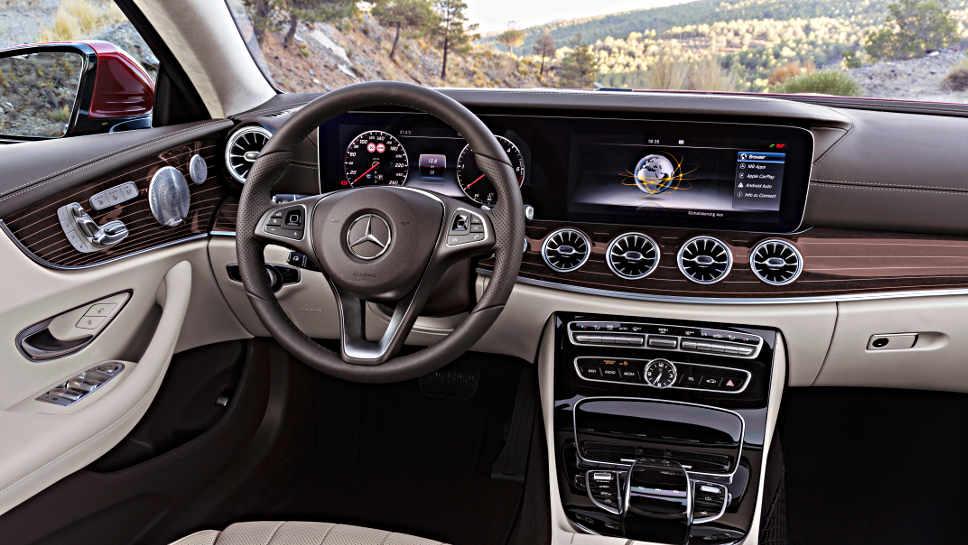 Mercedes E-Klasse Coupe neu Aufmacher Daimler