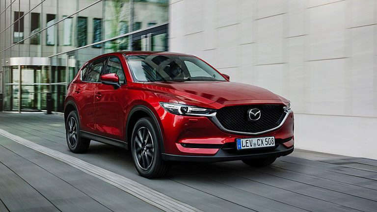 Mazda CX-5 startet bei knapp unter 25.000 Euro