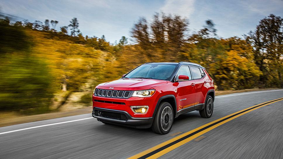 Jeep startet einen neuen Anlauf mit dem Compass